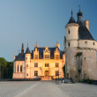 The Chateau de Chenonceau in the evening, France — Stock Photo #39264151