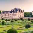 Stock Photo: The Chateau de Chenonceau at sunset, France