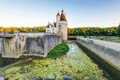 The Chateau de Chenonceau at sunset, France — Stock Photo