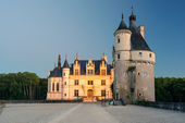 The Chateau de Chenonceau in the evening, France — Stock Photo