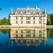 The chateau de Azay-le-Rideau, France — Stock Photo