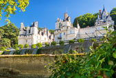 The chateau d'Usse, France — Stock Photo