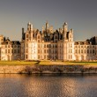 The royal Chateau de Chambord at sunset, France — Stock Photo #40314281