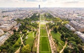 The Champ de Mars in Paris — Stock Photo