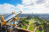 パリのエッフェル塔からの眺め — ストック写真