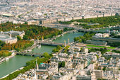 View of Paris from the Eiffel Tower — Stock Photo
