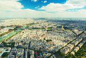 View of Paris from the Eiffel Tower — Стоковое фото