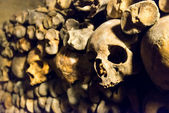 The Catacombs of Paris — Stock Photo