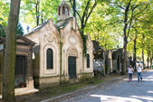 Montmartre Cemetery in Paris — Stock Photo