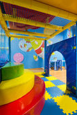 Modern playground in the room — Stock Photo