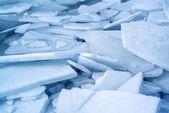 Fond bleu glacier — Photo