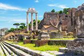 Rzymskie forum w Rzymie — Zdjęcie stockowe