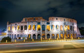 Colosseum (Coliseum) at night, Rome — Stock Photo
