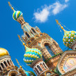 Church of the Savior on Spilled Blood in Saint Petersburg, Russia — Stock Photo #48646565