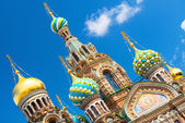 Church of the Savior on Spilled Blood in Saint Petersburg, Russia — Stock Photo