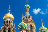 Church of the Savior on Spilled Blood in Saint Petersburg, Russi — Stock Photo
