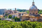 Foro romano en roma — Foto de Stock