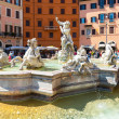 Fountain of Neptune at the Piazza Navona in Rome, Italy — Stock Photo #49337861
