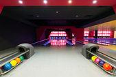 Modern luxury bowling — Foto Stock