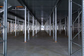 A modern factory warehouse — Stock fotografie