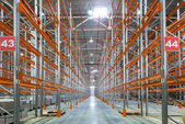 A big factory warehouse — Foto de Stock