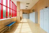 Gym dressing room — Stock Photo