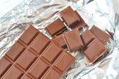 Chocolate tablet — Stock Photo