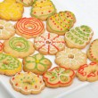 Christmas Ginger and Honey cookies — Stock Photo #17831293
