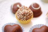 Chocolate candys — Stock Photo
