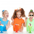 Stock Photo: Kids birthday party