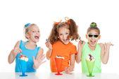 Kids birthday party — Stock Photo