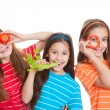 Foto Stock: Healhty eating kids concept