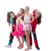 Kinderen dansen school — Stockfoto