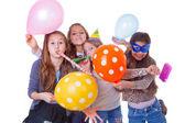 孩子们的生日聚会 — 图库照片