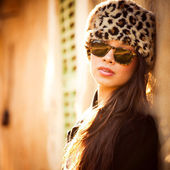 Mujer de moda — Foto de Stock