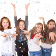 Children celebrating party - Stockfoto