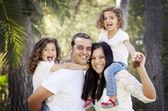 Padres e hijos — Foto de Stock