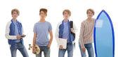 青少年的消闲活动 — 图库照片