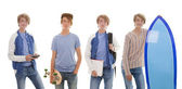 Passatempi teenager — Foto Stock