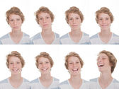 Different moods and expressions — Stock Photo