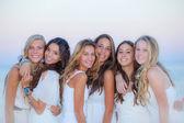 Teen girls natural beauty — Stock Photo