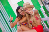 Teens on vacation or holiday — Stockfoto