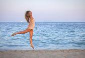 Healthy teen on vacation — Stock Photo