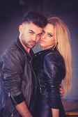 Retro vintage couple — Stock Photo