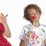 Kids art classes — Stock Photo #41920533