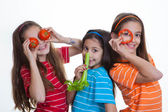 Kids healthy eating diet — Stock Photo