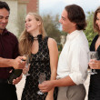 Champagne party group — Stock Photo #6361539
