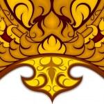 Art pattern Thai style — Stock Vector