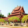 Stock Photo: Temple in Luang prabang Laos