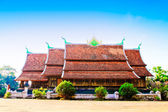 Wat singha tong in Laos — Stock Photo